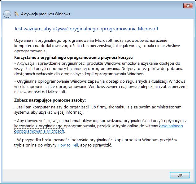 aktywacja systemu windows xp bez internetu