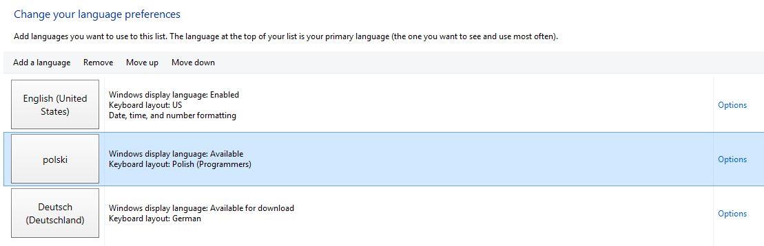 how to change language preference rbc