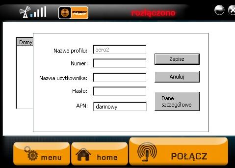 cyfrowy polsat aero2 apn
