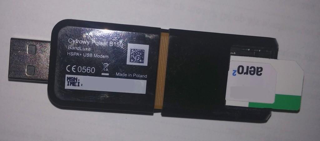 modem b150 aero2