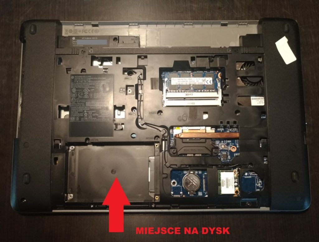 HP ProBook 450 G1 odpinana klapa